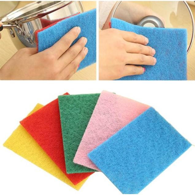10X Sponge Eraser Cleaning Towel Wash Cloth Kitchen Dish Foam Pads Cleaner