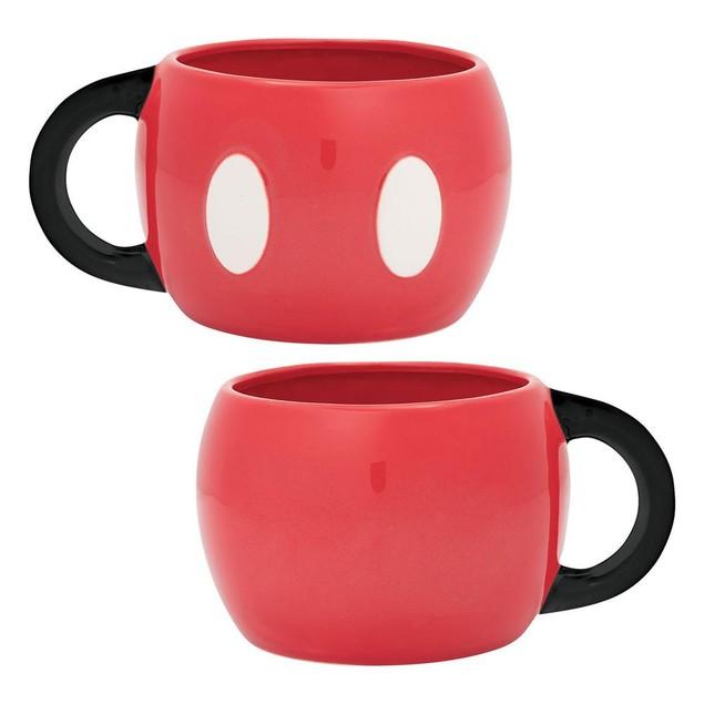Disney Mickey Mouse 20 oz. Sculpted Ceramic Mug Gift Coffee Minnie