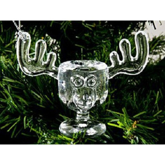 Christmas Vacation Moose Mug Ornament