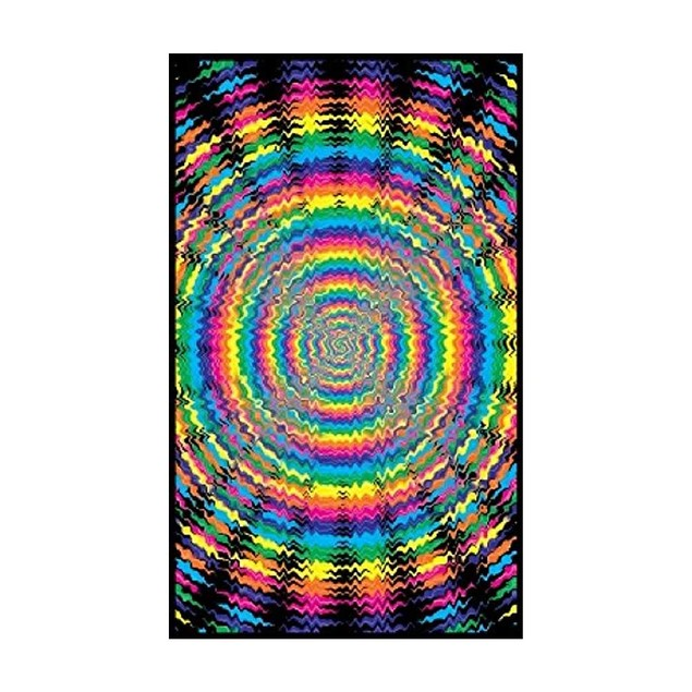 Vertigo Drop Blacklight Poster