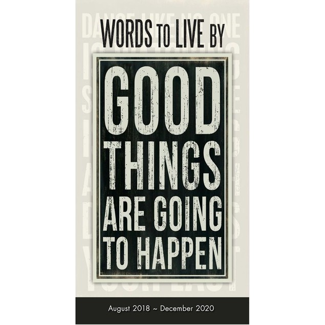 Words to Live By Pocket Planner, Motivation by Calendars