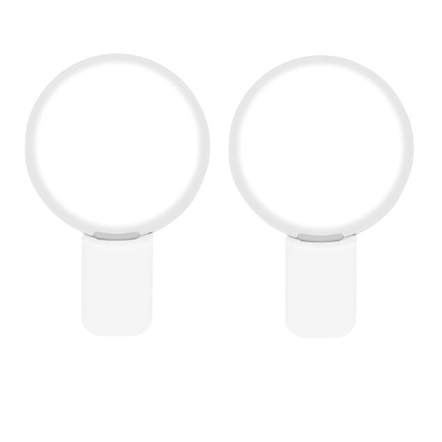 LED Smartphone Selfie light - 2 Pack