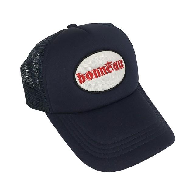 Lincoln Hawk Bonneau Navy Blue Trucker Hat