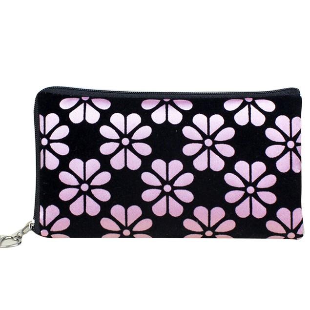 Women Printing Coins Change Purse Clutch Zipper Zero Wallet Phone Key Bags