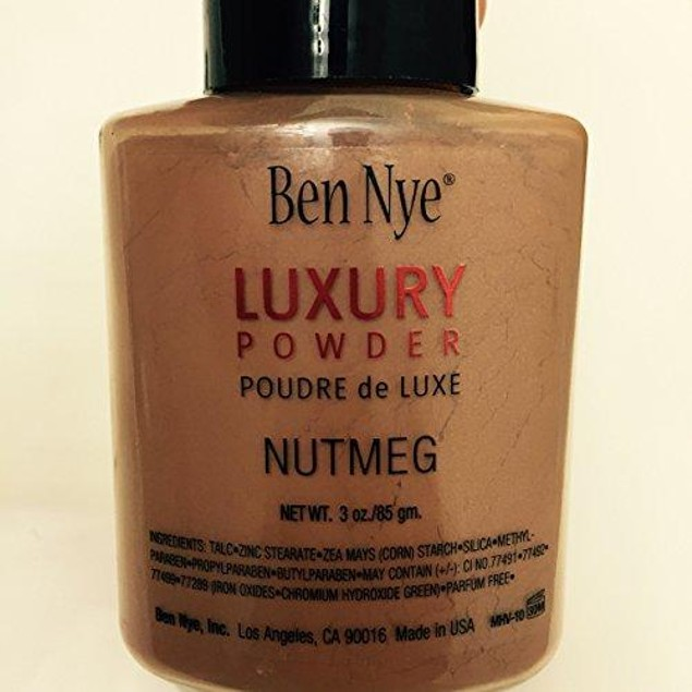 ben nye nutmeg luxury face powder 3 oz.