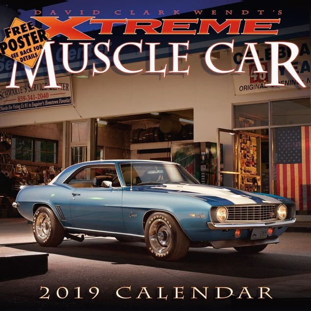 Xtreme Muscle Car Wall Calendar, Muscle Cars | Hot Rods by Calendars