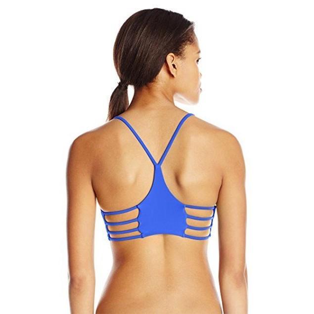 Body Glove Women's Smoothies Alani Halter Bikini Top, Abyss, SIZE MEDI