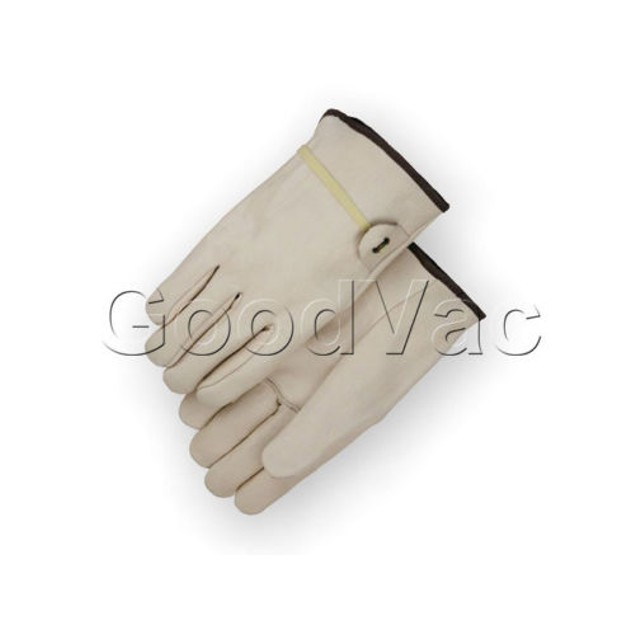 B Grade Cowhide Leather Work Gloves Ball and Tape LARGE