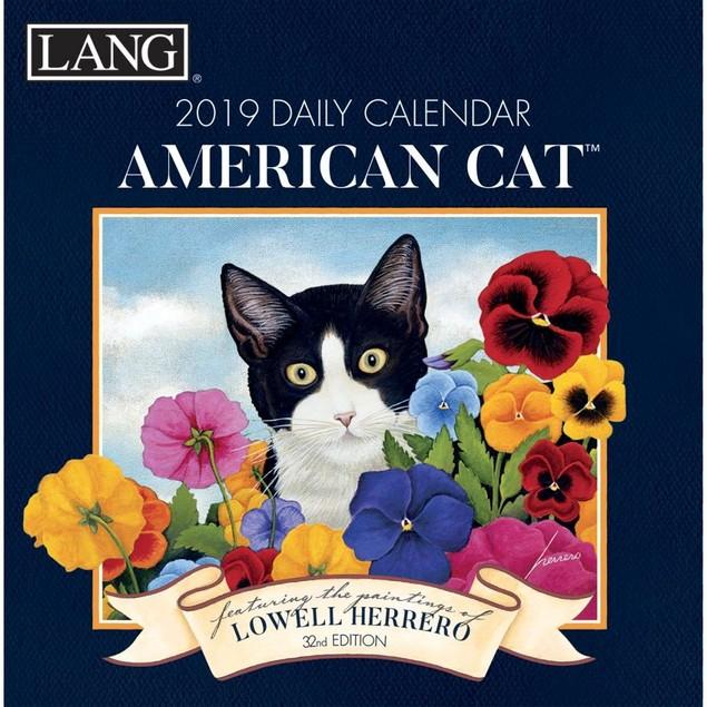 American Cat Desk Calendar,  by Calendars