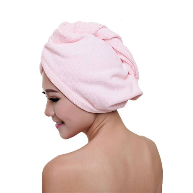 Quick Dry Hair Hat Microfibre Towel