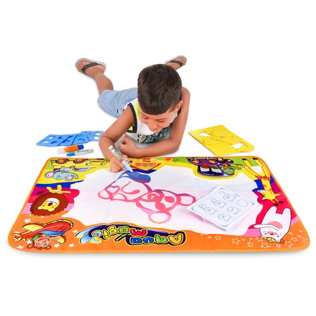 BritenWay Magic Aqua Board Large Water Drawing Mat for Kids