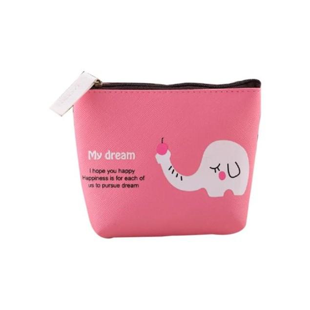 Girls Cute Cartoon Animal Coin Purse Wallet Bag Change Pouch Key Holder