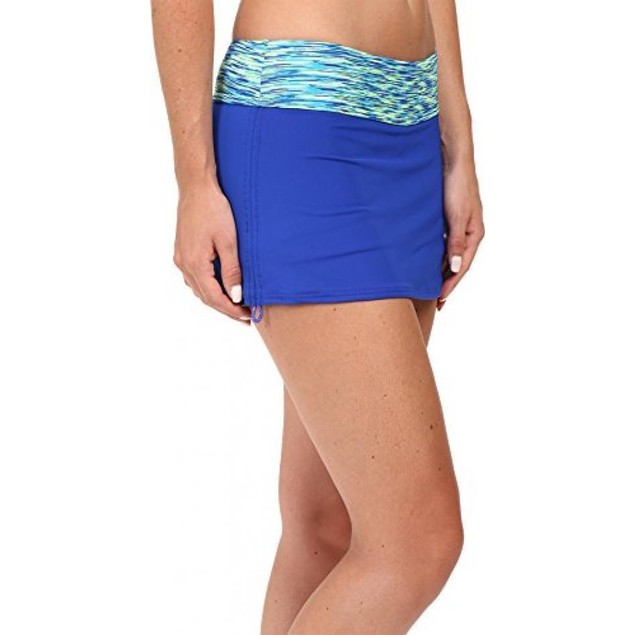 TYR BSSN7A Women's Sonoma Active Mini Swim Skort, Royal - Small