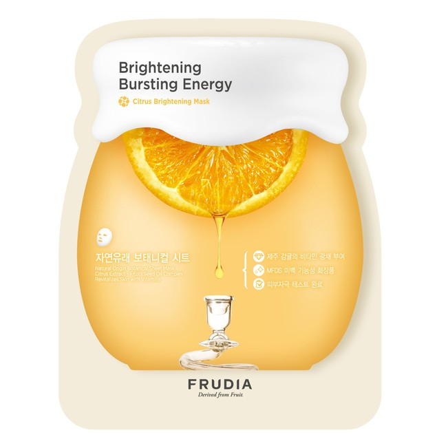 Frudia Brightening Sheet Mask, Brightening Bursting Energy, Citrus