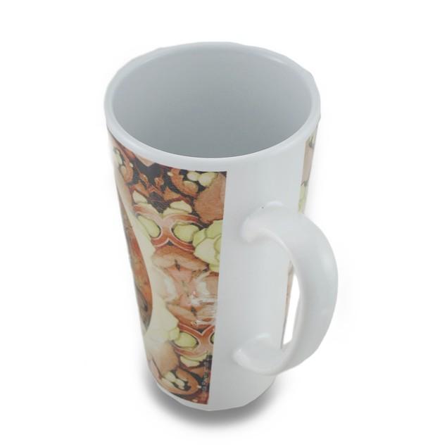 2 Pc. Linda Ravenscroft Grey Lady & Eclipse Design Novelty Coffee Mugs