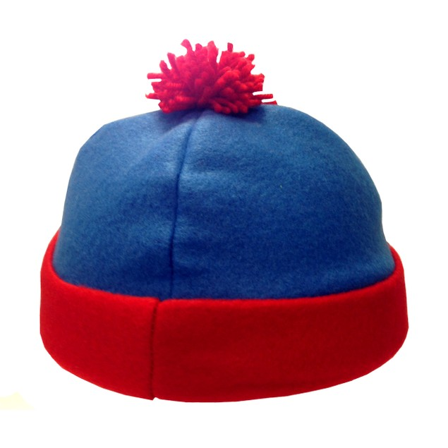 Stan Marsh Blue And Red Costume Beanie Hat