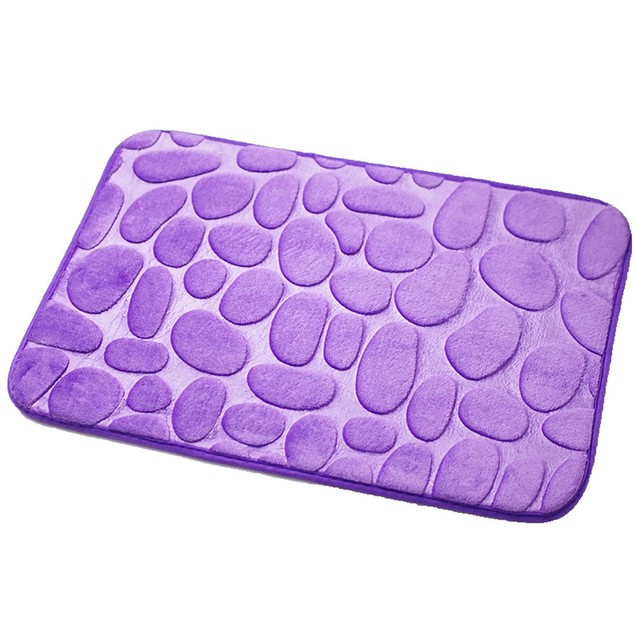 Rugs Pebble Memory Foam Bath Mat Carpet Floor Mats Carpet