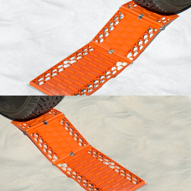Stalwart Foldable Emergency Tire Traction Mats