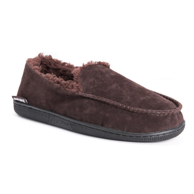 MUK LUKS ® Men's Faux Suede Moccasin Slippers