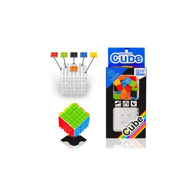 Zummy DIY Building Bricks Magic Speed Cube Puzzle