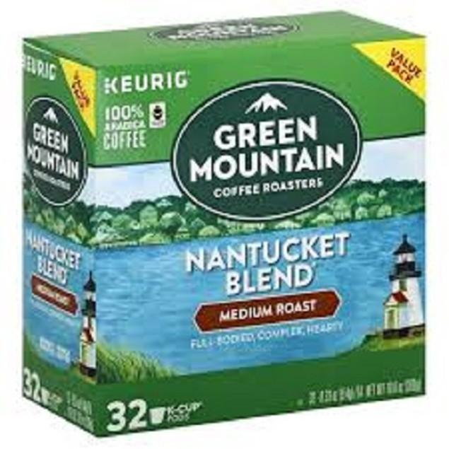 Green Mountain Nantucket Blend Medium Roast Value Pack Box