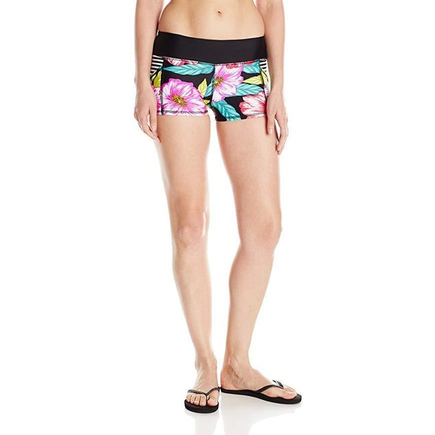 Body Glove Junior's Sunlight Rider Swim Short, Black, XS