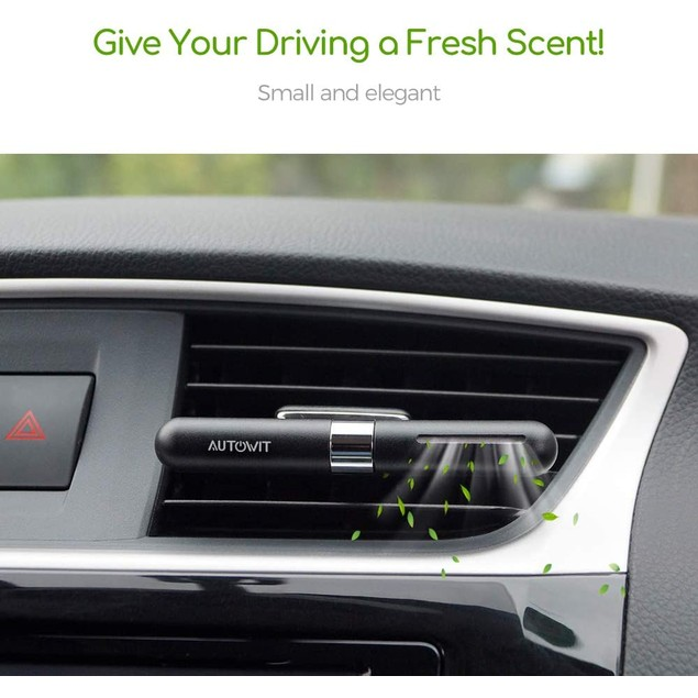 autowit Car Air Freshener for Air Vent Solid Perfume