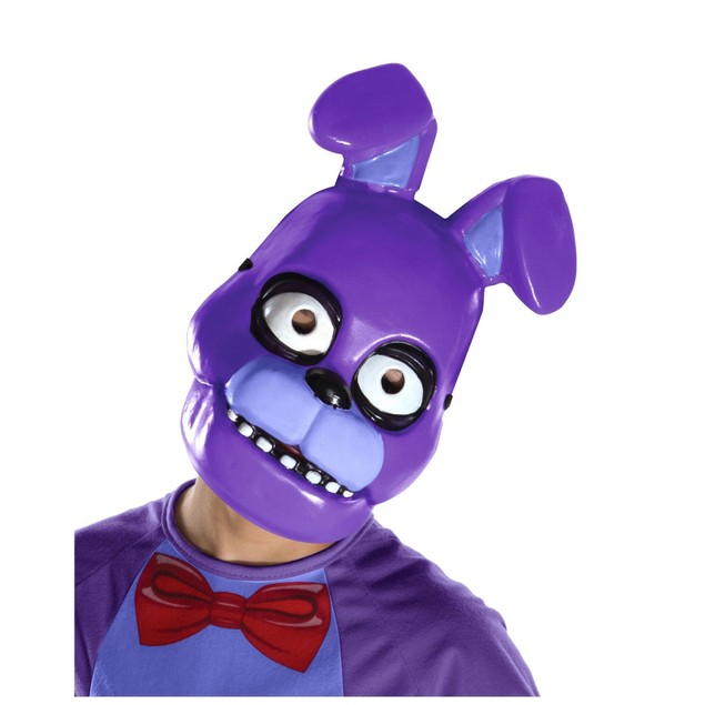 Five Nights At Freddy's Bonnie Child 1/2 Mask - PURPLE