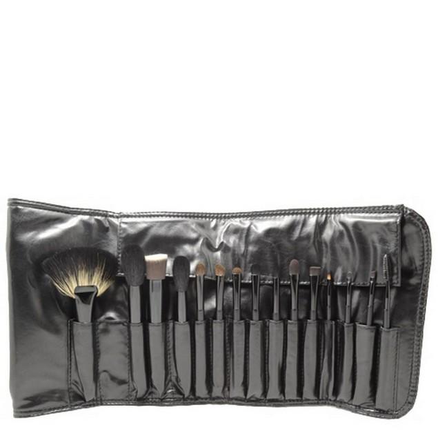 15 Piece Brush Set - Black