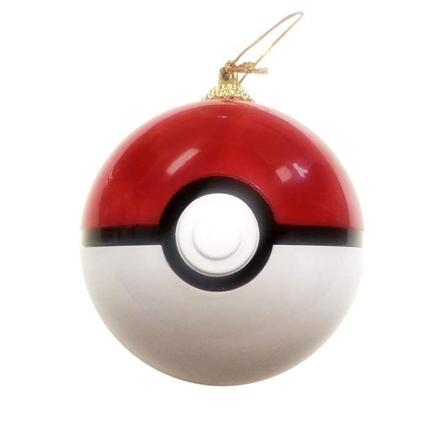 Pokeball Christmas Tree Ornament