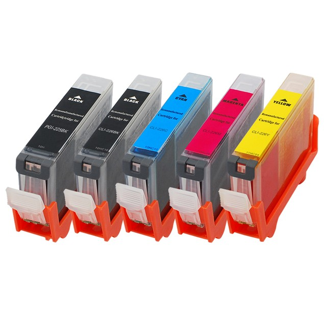 Canon PGI225/CLI226 Compatible Ink 5-Pack