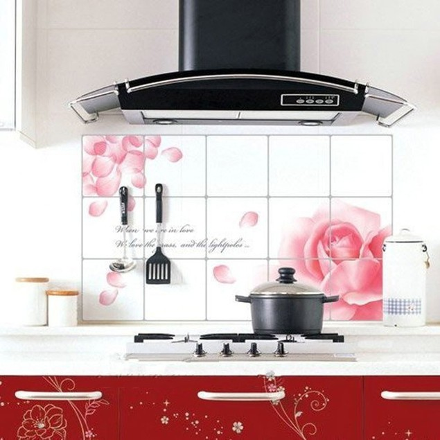 Kitchen Oilproof Removable Wall Stickers