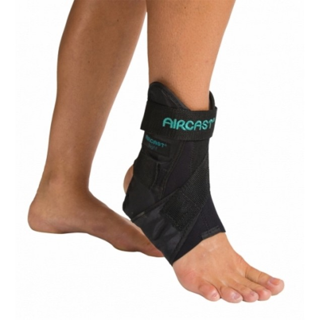 Aircast 02MXLL AirSport Ankle Brace Prevent Ankle Sprains, Left, X-Large,