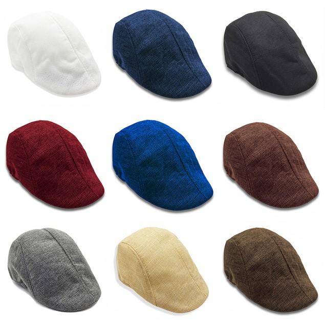 Men's and Women's Linen Cap