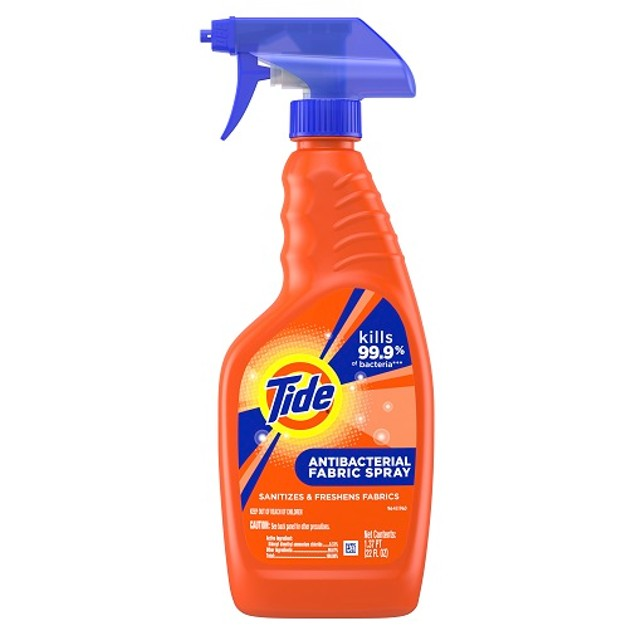 Tide Antibacterial Fabric Spray 2 Bottle Pack