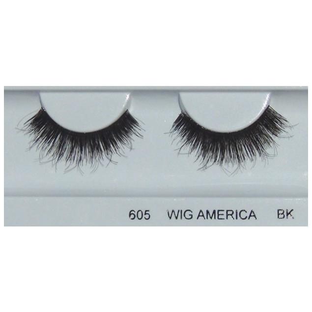Wig America Premium False Eyelashes wig503, 5 Pairs