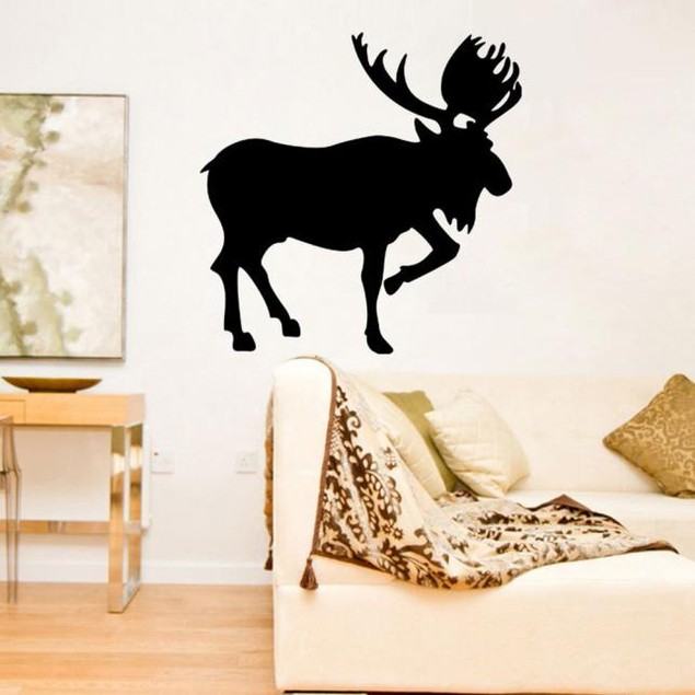 Lucky Deer Creative Personality Wall Stickers  Home Decor
