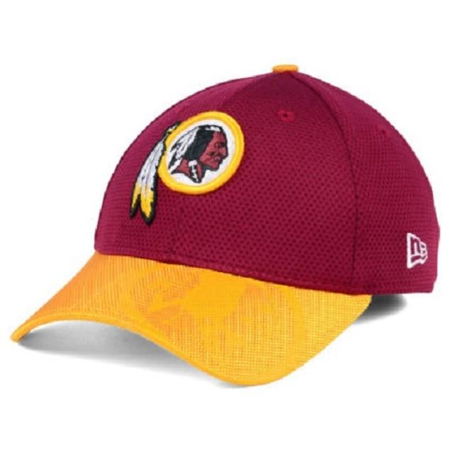 Washington Redskins NFL New Era 39Thirty Sideline Stretch Fitted Hat