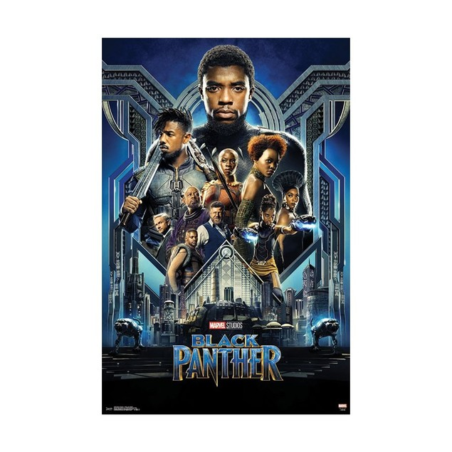 Black Panther Group One Sheet Wall Poster