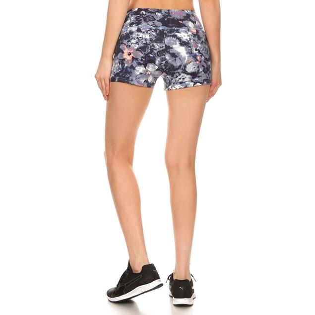 Women's Sports & Gym Stretchy Slim Fit Yoga Shorts