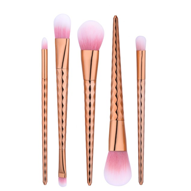 5Pcs Blending Pencil Foundation Makeup Brushes Eyeliner Brush 177
