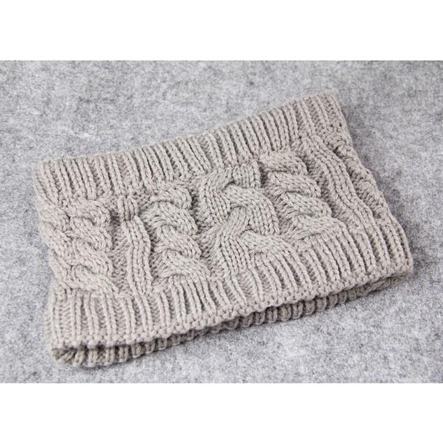 Ladies No Top Twist Knitted Woolen Hat