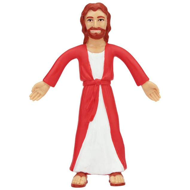 Jesus Of Nazareth Bendable Figure Christ Bible Novelty Catholic 5.5 Inch
