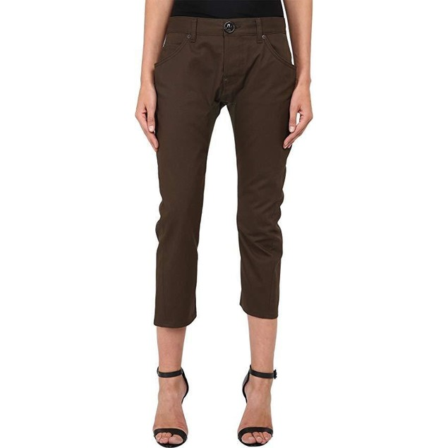 DSQUARED2 Women's Icon Anniversary Chino Pants Green 42