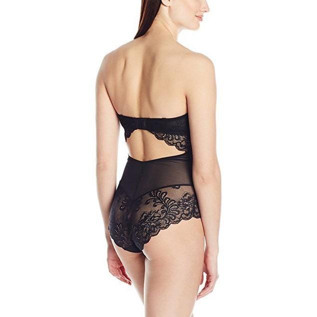 Le Mystere Women's Sophia Strapless Bodysuit, Black, 34D