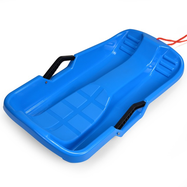 Winter durable Plastic snow Sled in boat shape Snow Sledge Snow board Seats