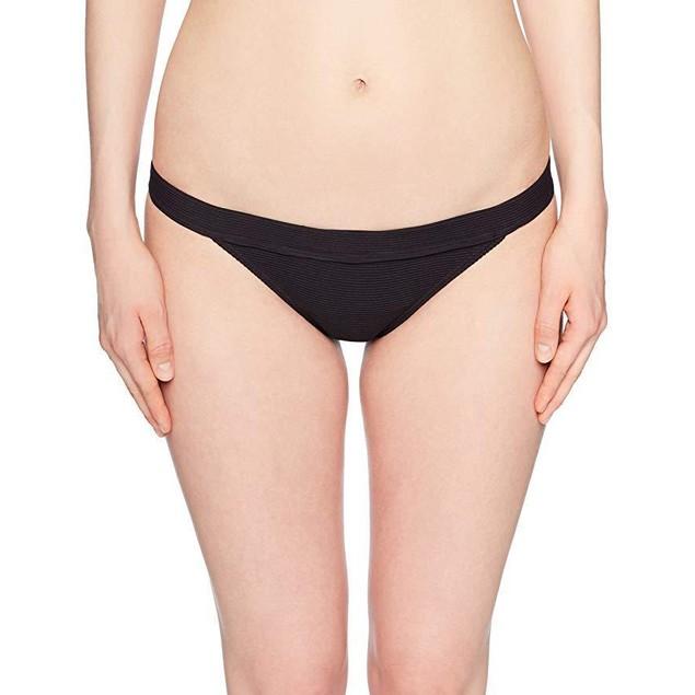 Billabong Junior's Tanlines Tropic Bikini Bottom, Black Pebble, M