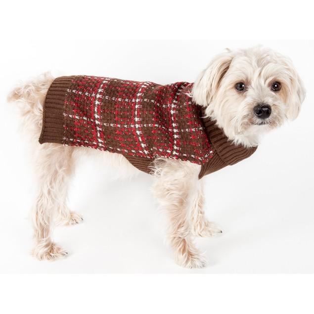 Vintage Symphony Static Fashion Knitted Dog Sweater