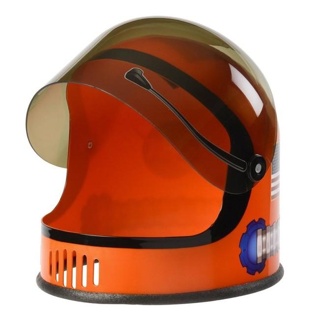 Orange NASA Child Astronaut Helmet