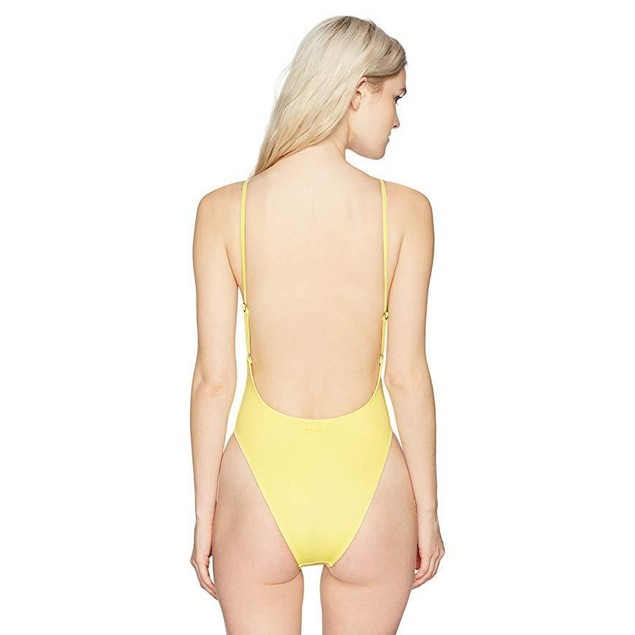 Billabong Junior's Reissue One Piece Swimsuit, Sun Kissed, M